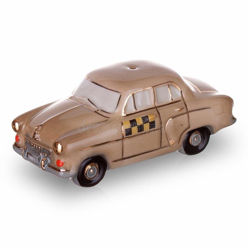 在苏联制造的葡萄酒俄国汽车比例模型 库存图片
