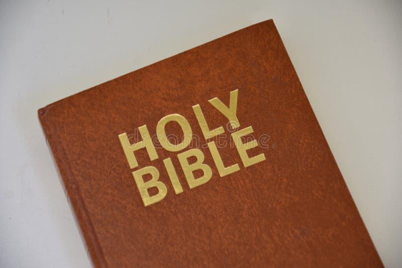 在英语的圣经 图库摄影