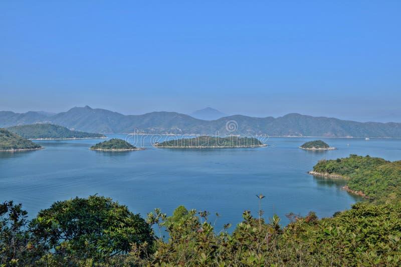 在茂名附近的鸡海岛在广东在中国 免版税图库摄影
