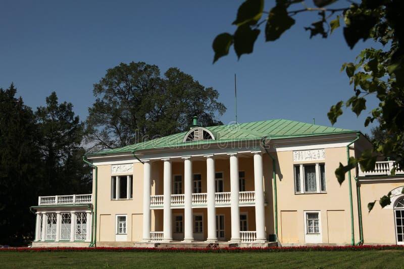 在莫斯科,俄罗斯附近的高尔基庄园 免版税库存照片