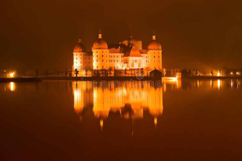 在莫里茨堡的城堡在德国 库存图片