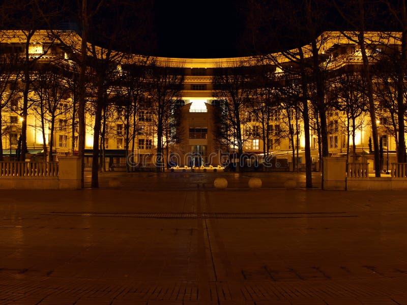 在蒙彼利埃-法国的安提歌尼区 免版税库存照片