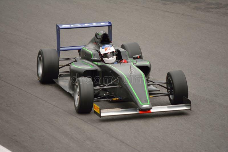 在蒙扎填入Motorsport惯例4汽车测试 免版税库存图片