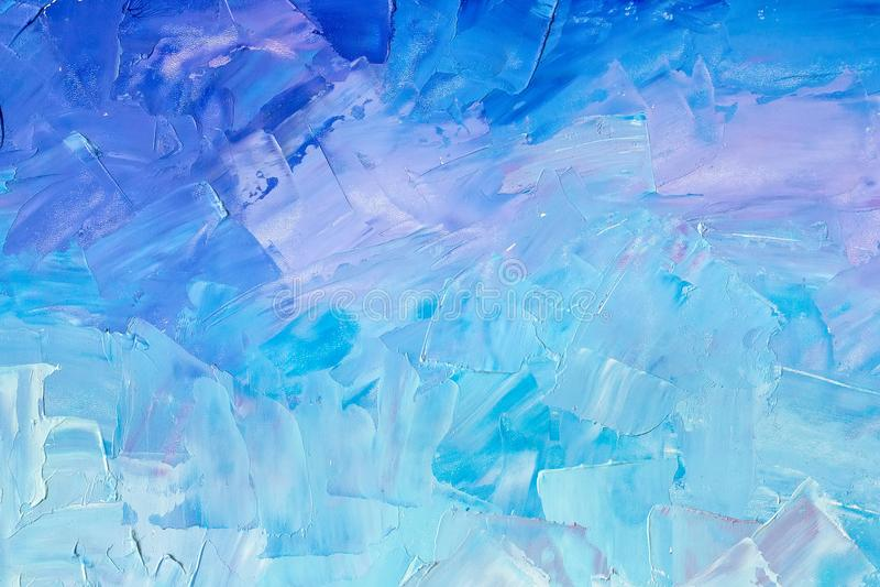 在蓝色口气的抽象背景纹理 免版税图库摄影