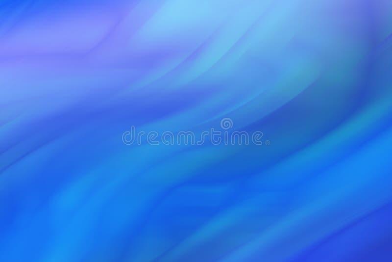 在蓝色口气的抽象色的背景 波浪蓝色条纹背景  库存照片