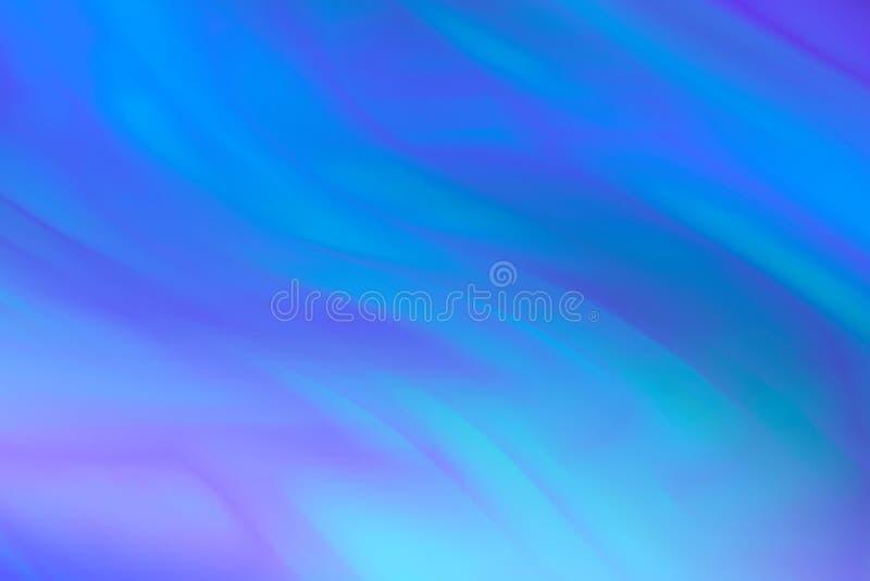 在蓝色口气的抽象色的背景 波浪蓝色条纹背景  库存图片