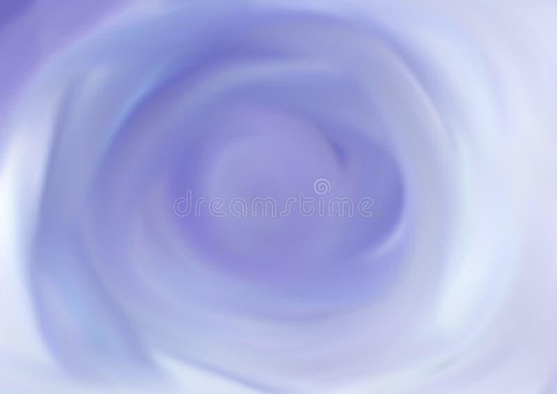 在蓝色和灰色口气的五颜六色的被弄脏的抽象背景 向量例证