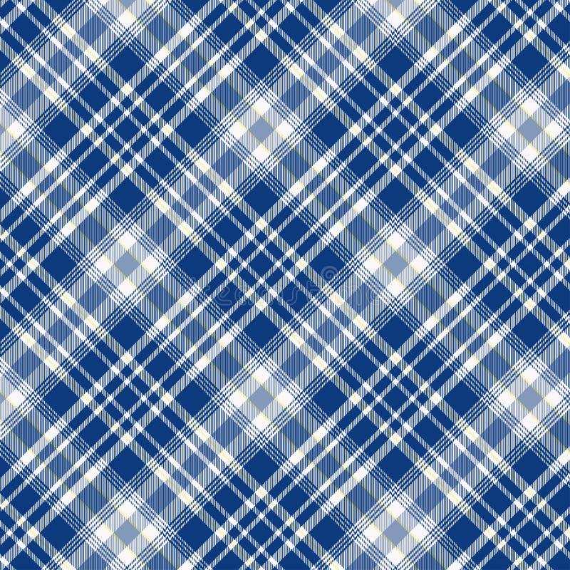 在蓝色和白色的格子呢样式 格子花呢披肩的,桌布,衣裳,衬衣,礼服,纸,卧具,毯子,被子纹理和 皇族释放例证