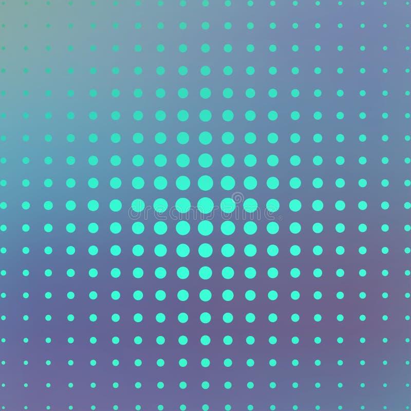 在蓝色背景的中间影调 例证 皇族释放例证