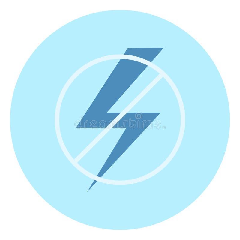 插画 包括有 冲击, 闪电, 电子, 禁止, 符号, 图表, 背包 - 10318570