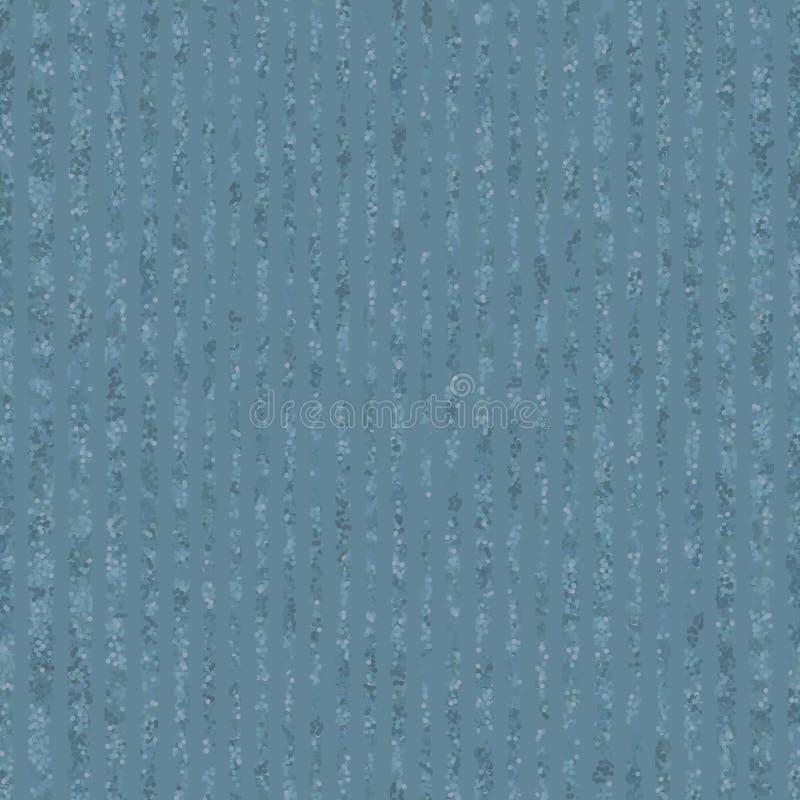 在蓝色背景的被察觉的小条 织地不很细起泡的条纹 皇族释放例证