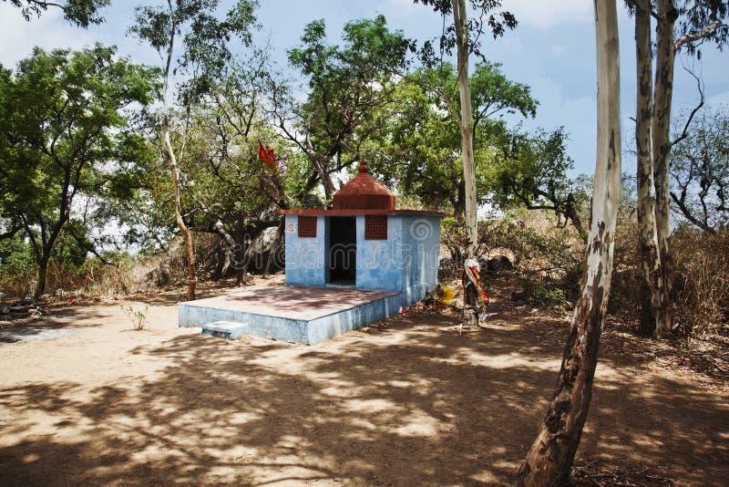 在蜜月点,莫乌恩特阿布, Sirohi区,拉贾斯坦的寺庙 图库摄影