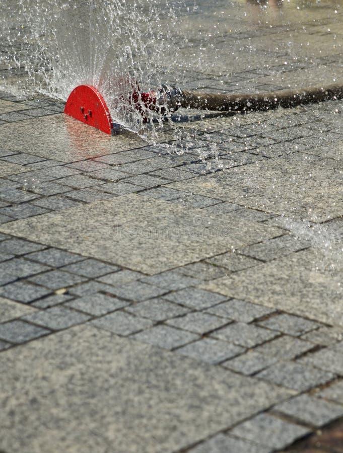 在街道上的喷水隆头