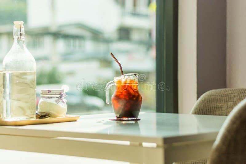 在表的咖啡 免版税库存照片