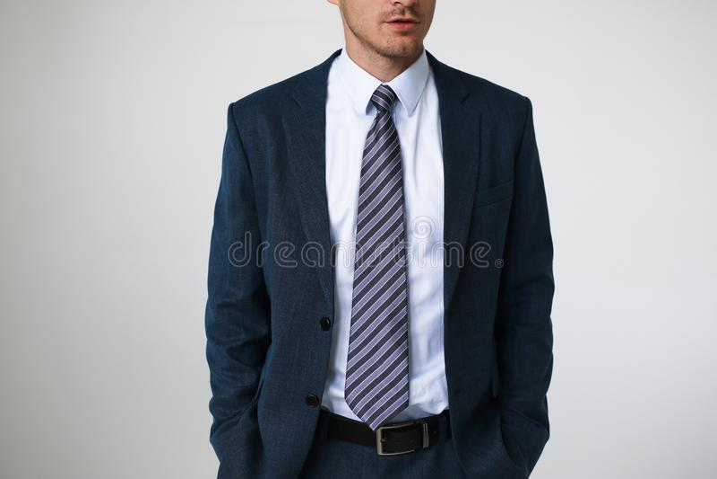 在衬衣衣服企业样式人时尚的领带图片