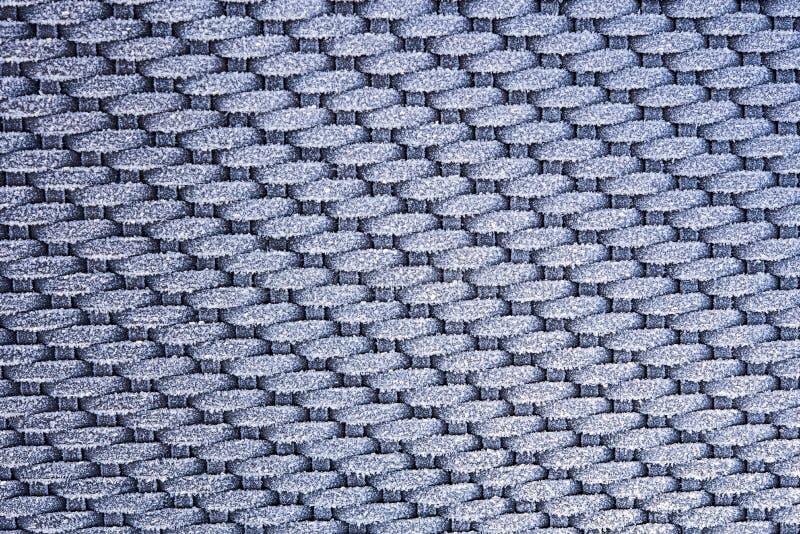 在被编织的织品-背景的树冰 库存照片