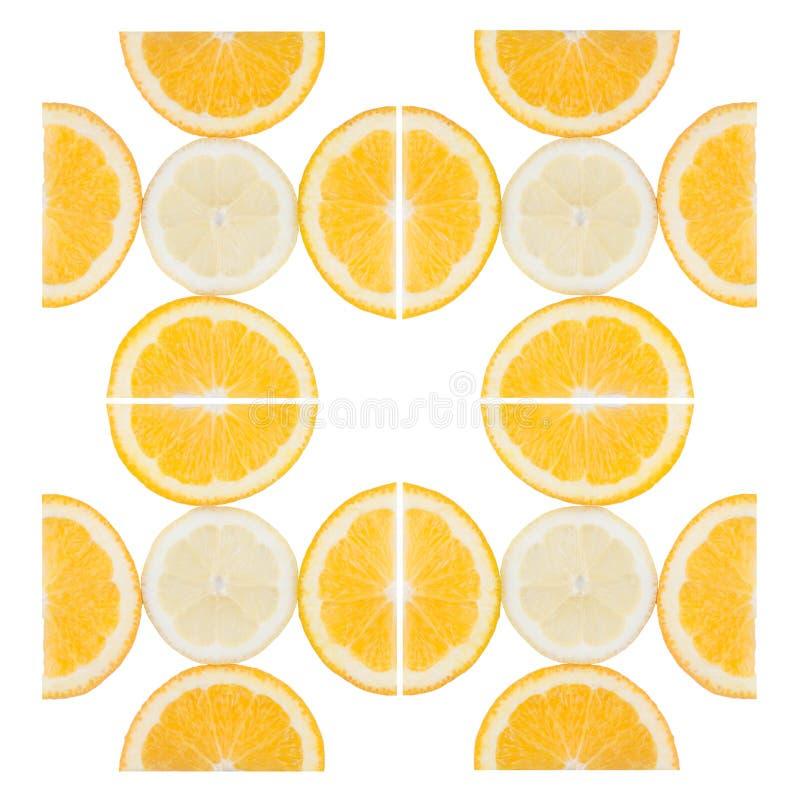 在被隔绝的裁减的新鲜水果 免版税库存照片