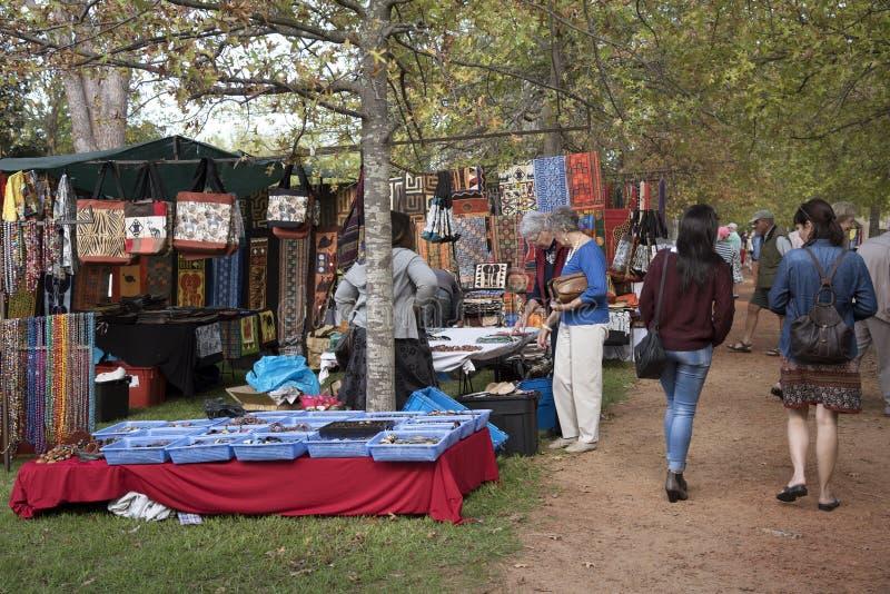 在西开普省的南部非洲开普敦制作市场 免版税库存图片