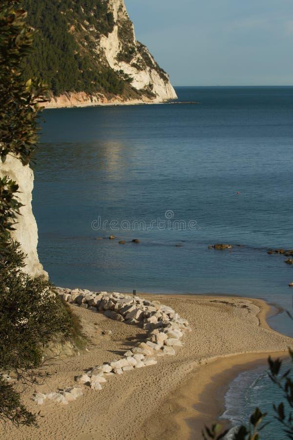在西罗洛,意大利使`乌尔巴尼`靠岸 库存照片