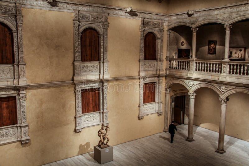 在见面的关闭时间,大都会艺术博物馆,纽约,美国 库存照片