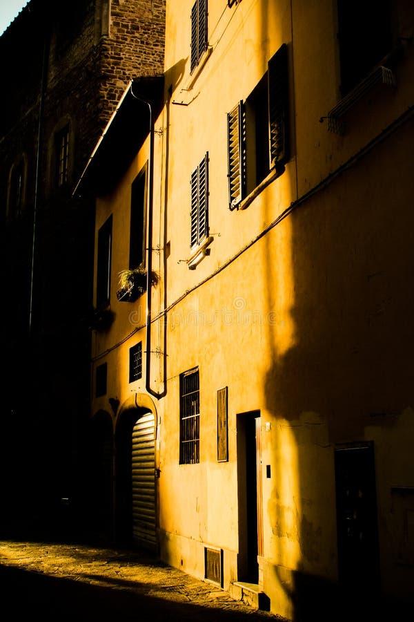 在视窗的太阳 库存照片