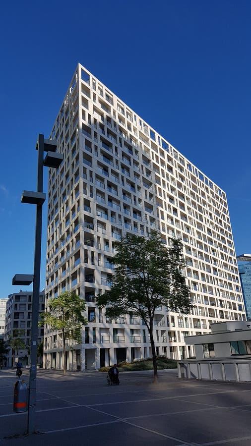 在角度外面的建筑学 免版税库存照片