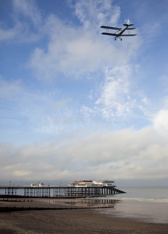 在诺福克海岸的Cromer -英国 免版税库存图片