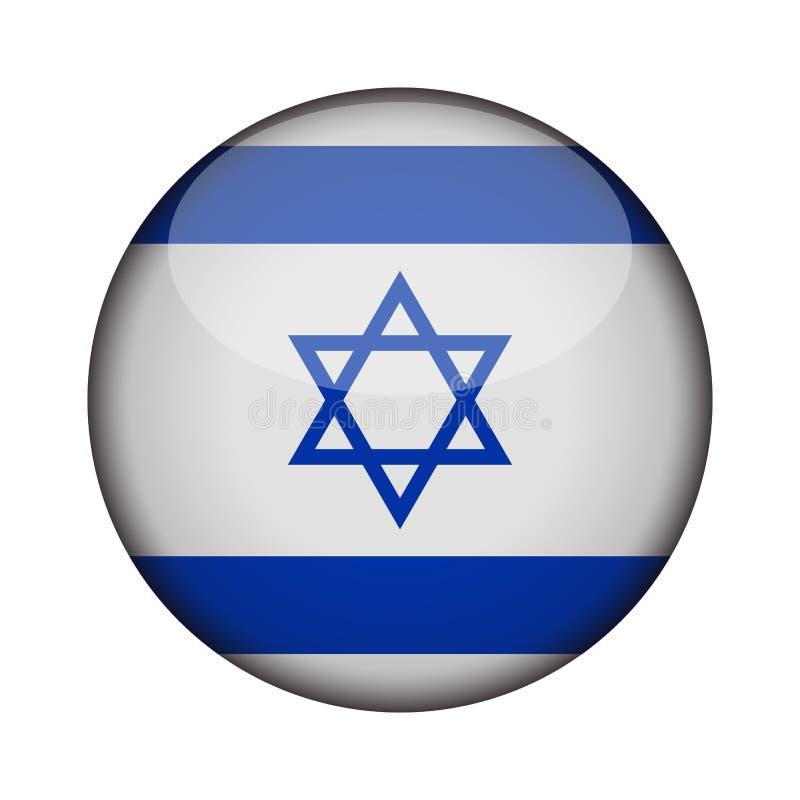 在象光滑的圆的按钮的旗子  皇族释放例证