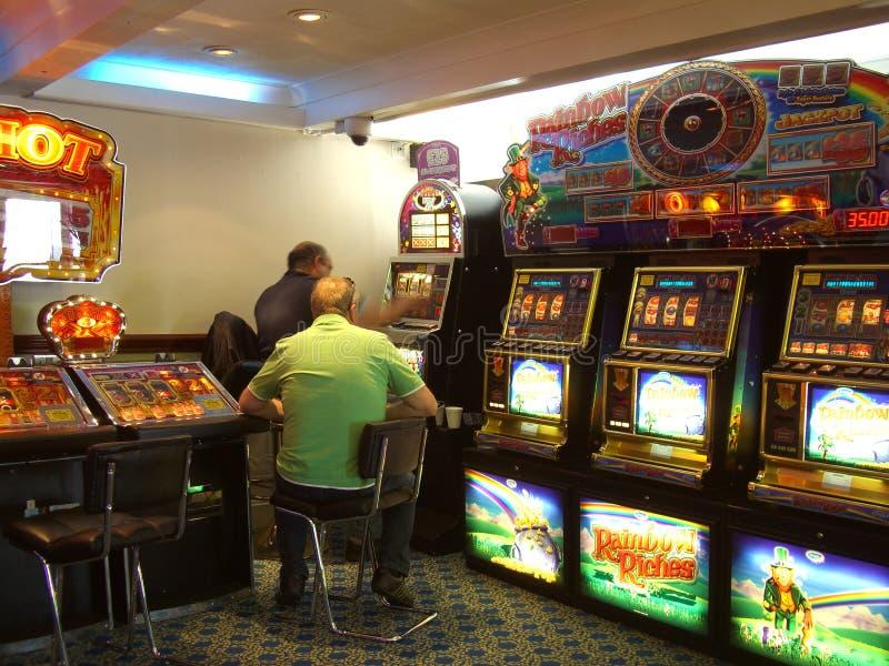 在赌博娱乐场 免版税库存图片