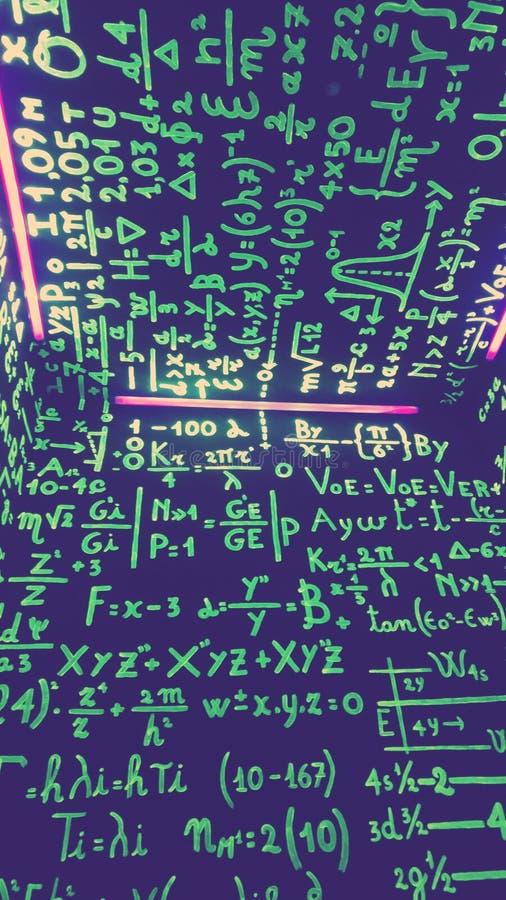 在路的算术 免版税库存照片