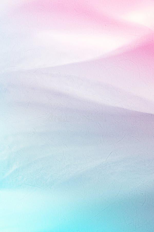 在软的颜色和迷离样式的生动的颜色花瓣 免版税库存图片