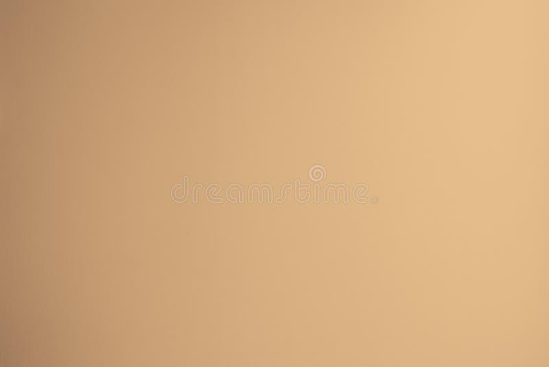 在轻的米黄口气的软的奶油颜色纹理背景与小插图 免版税库存照片