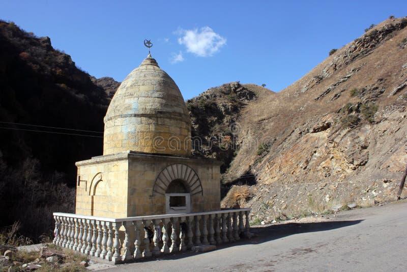 在达吉斯坦山的回教宗教大厦 免版税图库摄影