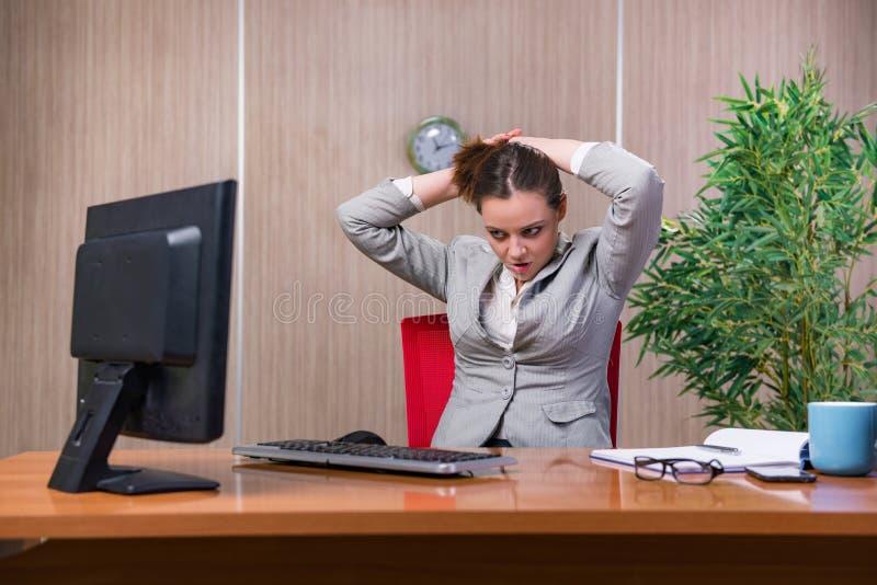 Download 在运作在办公室的重音下的女实业家 库存照片. 图片 包括有 严重, 关键董事会, 女性, 愉快, 屏幕, 生意人 - 72358096