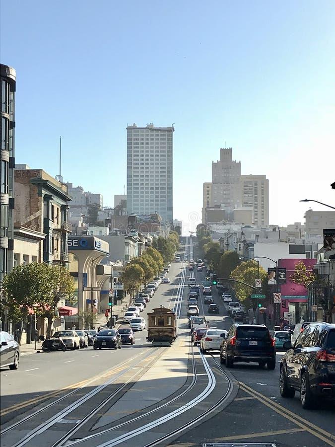 在进城旧金山 免版税图库摄影