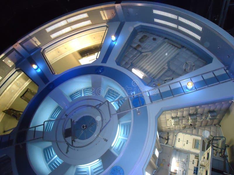 在迪斯尼乐园美国奥兰多的蓝色吸引力 免版税库存照片
