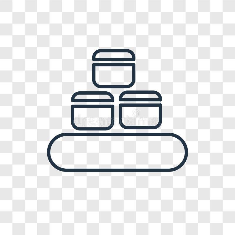 在透明backgr隔绝的板台概念传染媒介线性象 皇族释放例证