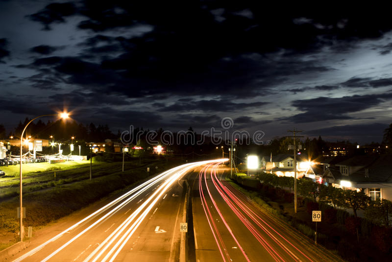 在通行证的走道在纳奈莫 图库摄影