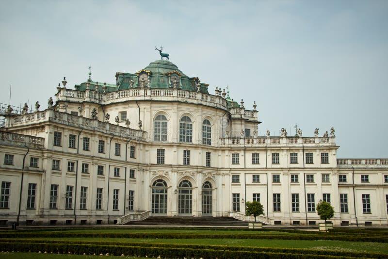 在都灵附近的Stupinigi宫殿 免版税库存图片