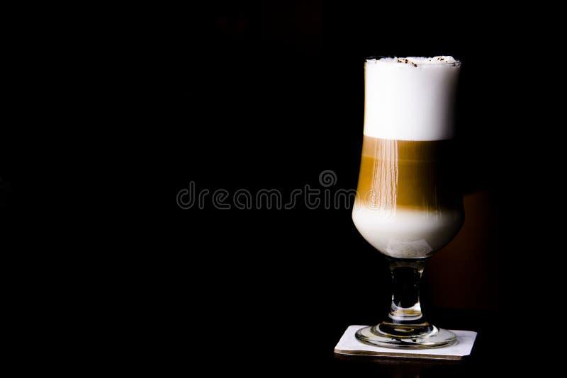 在酒吧的冰coffe 杯冰coffe 免版税库存图片