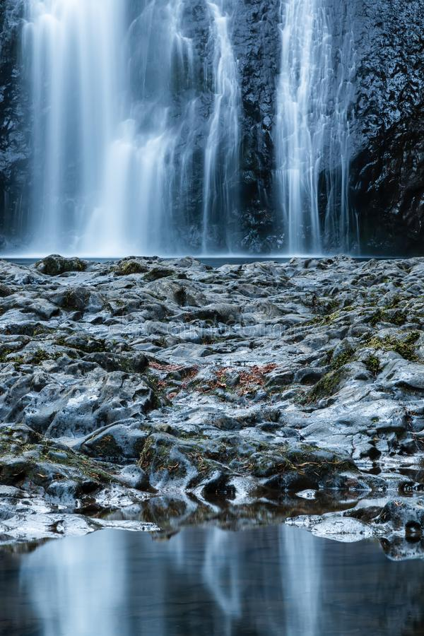 在银色秋天国家公园的北部秋天,俄勒冈 库存照片
