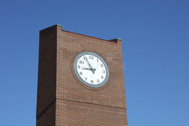 在镇中心的尖沙咀钟楼 图库摄影