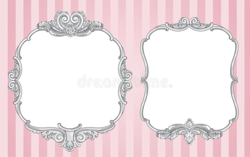 Download 华丽葡萄酒框架 向量例证. 插画 包括有 镜子, 钞票, brewster, 婚姻, 看板卡, 框架, 装饰品 - 30338315