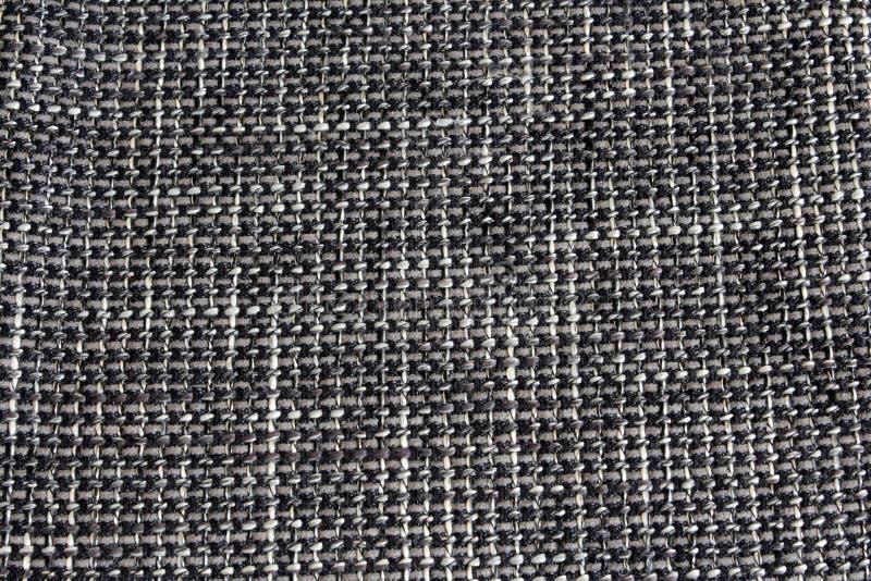 在长沙发的织物覆盖系数 免版税库存图片