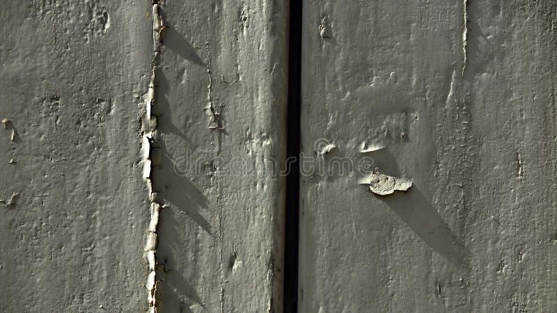 在门的酥脆阴影 库存照片