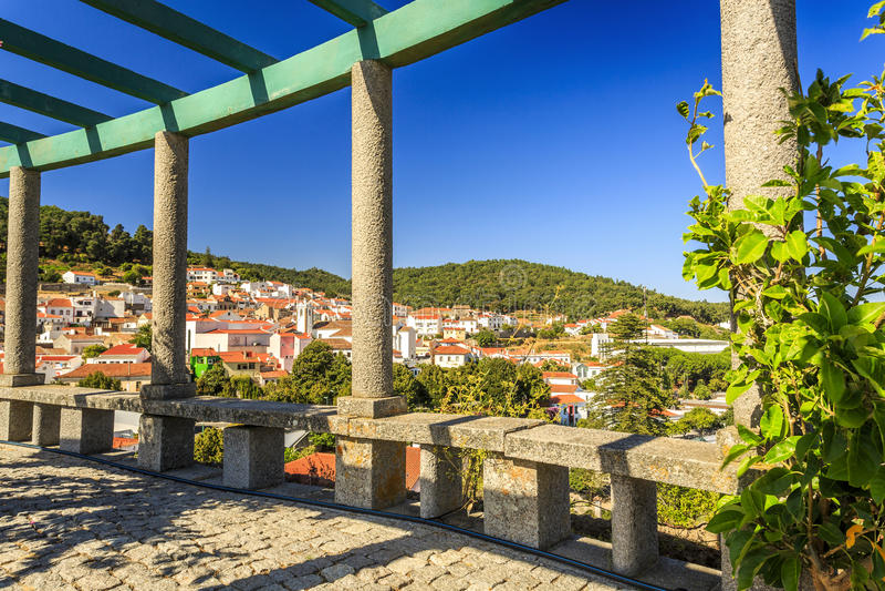 在阿尔加威,葡萄牙山的Monchique  免版税图库摄影