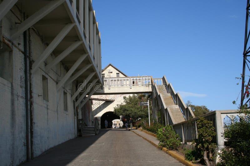 在阿尔卡特拉斯岛监狱的一天 免版税库存照片