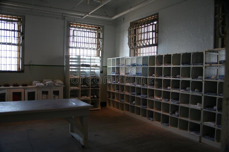 在阿尔卡特拉斯岛监狱的一天 图库摄影
