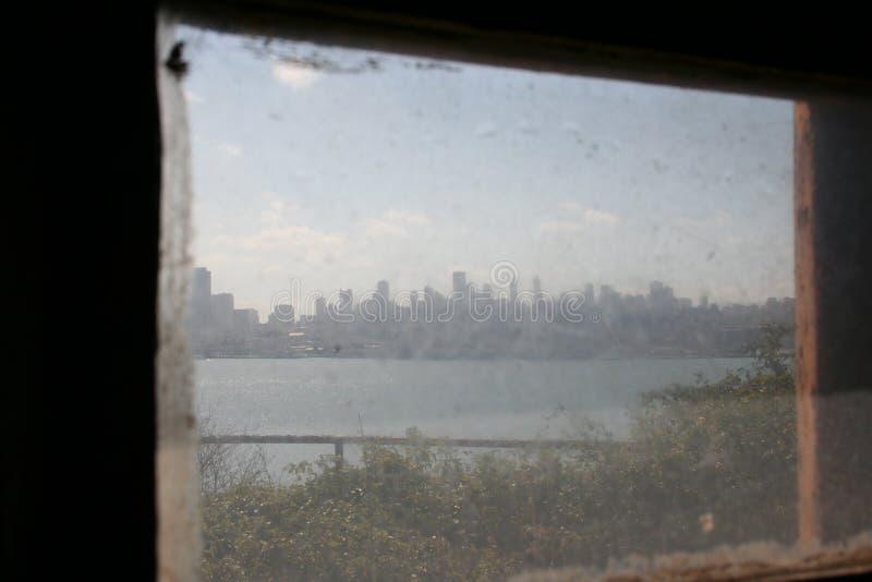 在阿尔卡特拉斯岛监狱的一天 免版税库存图片
