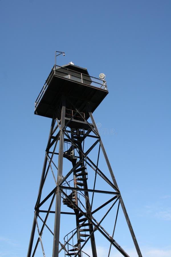 在阿尔卡特拉斯岛监狱的一天 库存图片